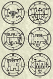 Printable Seals of the Spirits from the Goetia - instant download - Gene's Weird Stuff  - 9