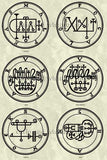 Printable Seals of the Spirits from the Goetia - instant download - Gene's Weird Stuff  - 10