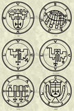 Printable Seals of the Spirits from the Goetia - instant download - Gene's Weird Stuff  - 11