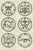 Printable Seals of the Spirits from the Goetia - instant download - Gene's Weird Stuff  - 12