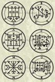 Printable Seals of the Spirits from the Goetia - instant download - Gene's Weird Stuff  - 13