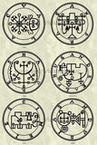 Printable Seals of the Spirits from the Goetia - instant download - Gene's Weird Stuff  - 14