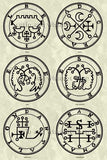 Printable Seals of the Spirits from the Goetia - instant download - Gene's Weird Stuff  - 15