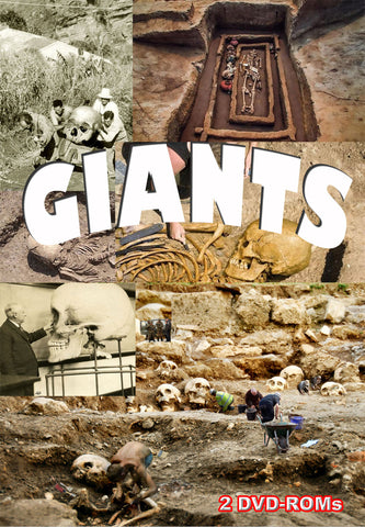 Giants - Did they once walk the earth? Did they leave any evidence behind? 2 DVD-ROMs