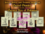 Seals & Tables from the Grand Grimoire  of Solomon