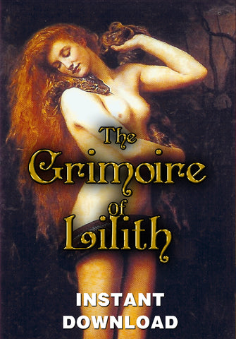 The Grimoire of Lilith - Instant Download - Gene's Weird Stuff