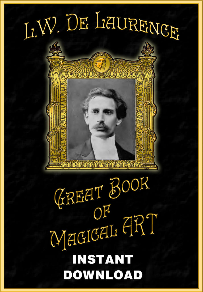 The Great Book of Magical Art - L.W. deLaurence - Gene's Weird Stuff