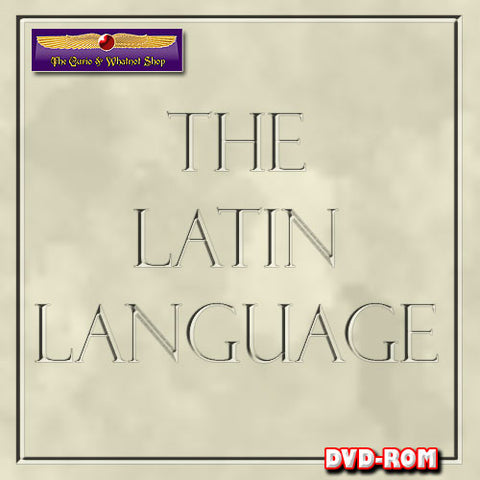 Latin  for Biblical scholars on 1 DVD-ROM