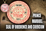 Prince Marbuel Seal  6th & 7th Books of Moses high res on parchment; matching pendant available.