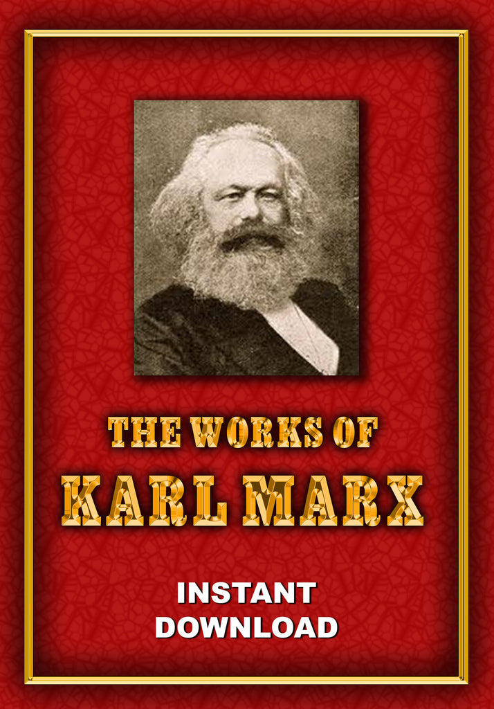 The Works of Karl Marx - Instant Download - Gene's Weird Stuff
