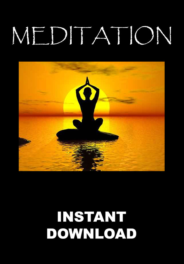 Meditation - the Inner Path - Instant Download - Gene's Weird Stuff