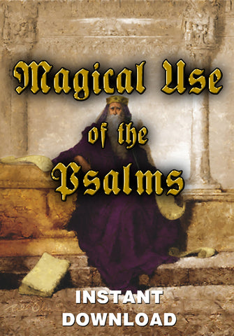 Magickal use of the Psalms - Gene's Weird Stuff