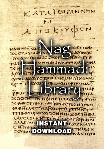 Nag Hammadi Library - Instant Download - Gene's Weird Stuff