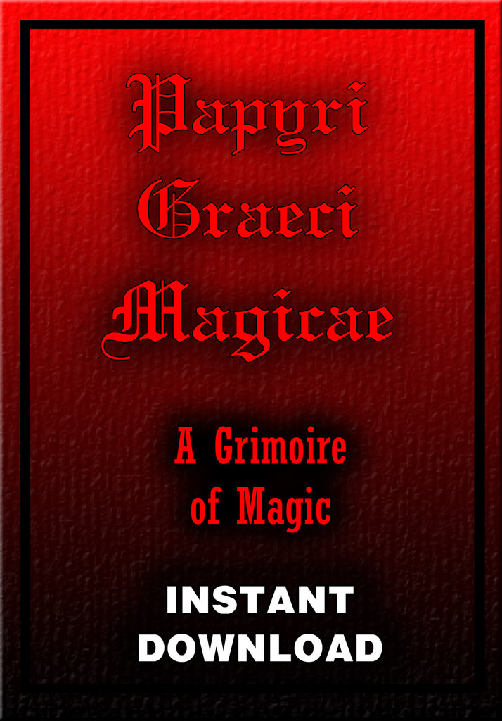 Papyri Graecae Magicae - A Grimoire of Magic - Instant Download - Gene's Weird Stuff