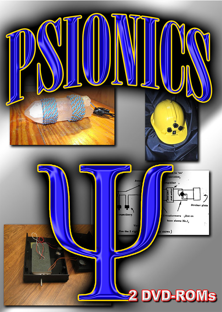 Psionics - electronics and the power of the mind - psychic phenonema 2 DVD boxed