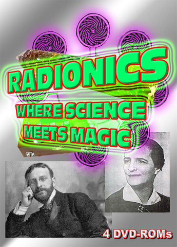 Radionics - the Crossroad of Magic and Science 4 DVD-ROM boxed Abrams Drown