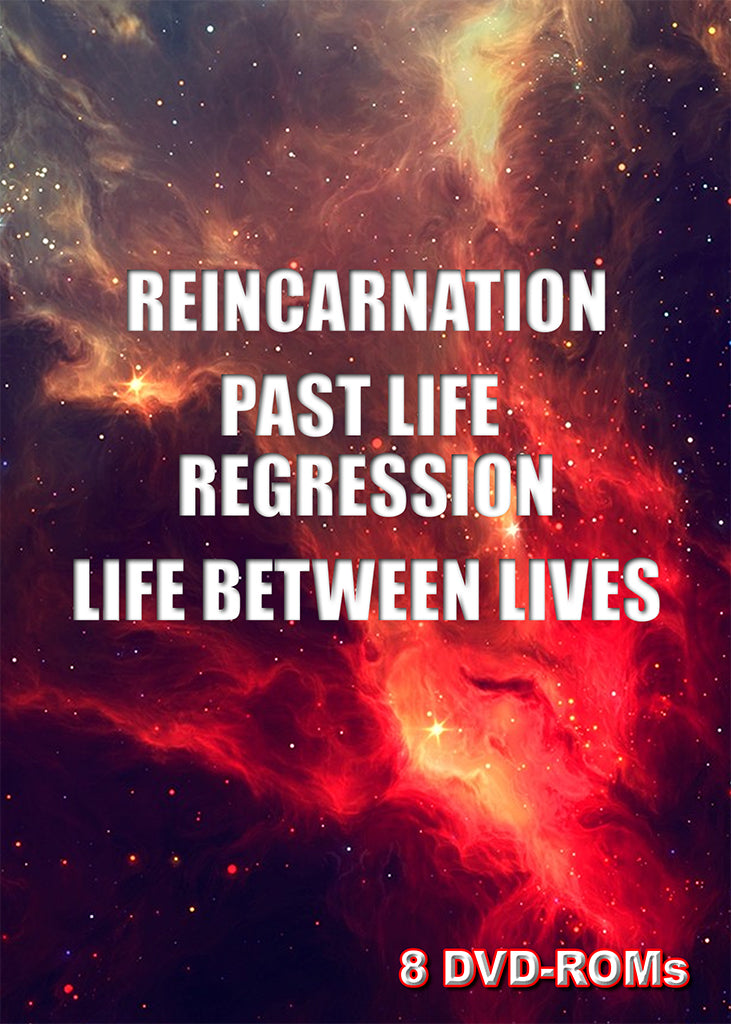 Reincarnation, Past Life Regression and Life Between Lives 8 DVD-ROM boxed