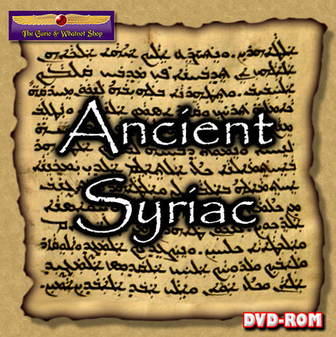 Syriac  for Biblical scholars 1 DVD-ROM