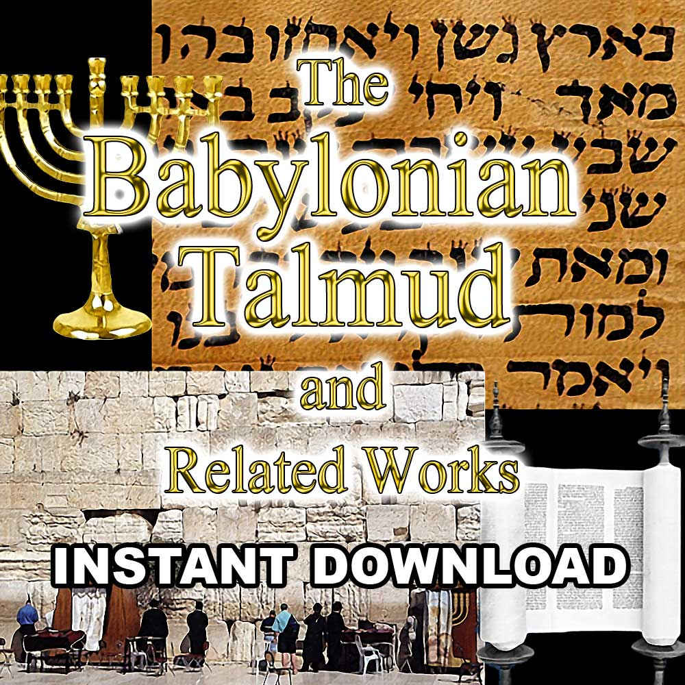 Babylonian Talmud & Related Works - Instant Download