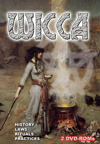 Witchcraft & Wicca - boxed shrink wrapped digital library on 2 DVD-ROMs