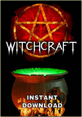 Witchcraft - 121 pdf titles - Instant Download - Gene's Weird Stuff