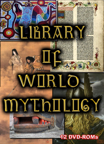 World Mythology - 12 DVD-ROMs BANNED FROM EBAY shrinkwrapped hinged box