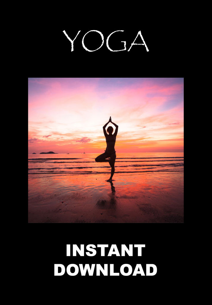 Yoga - Joining the mundane to the divine - Instant Download - Gene's Weird Stuff