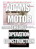 The Robert Adams Motor - over unity generator - theory, operation & construction instant download