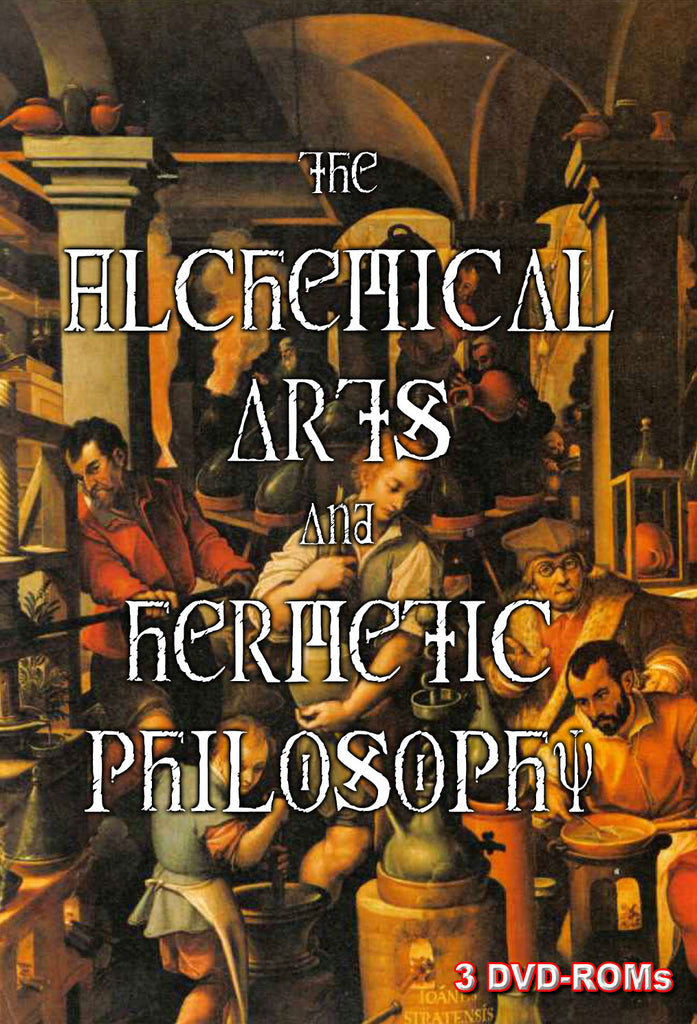 Alchemical Arts & Hermetic Philosophy - 3 DVD-ROM boxed & shrinkwrpped