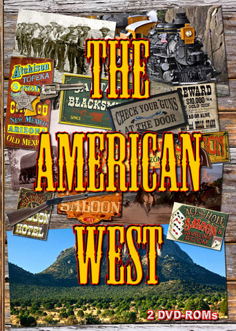 The American West - 2 DVD ROMs - boxed