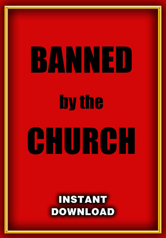 Banned by the Church! Instant Download