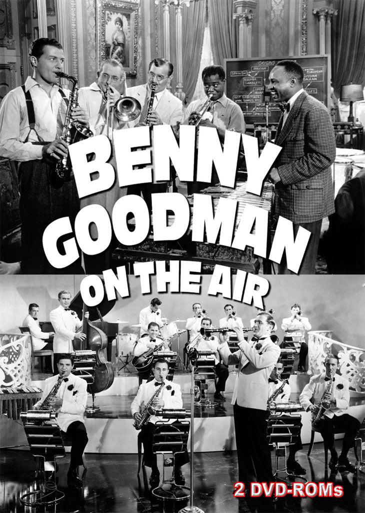 Benny Goodman On The Air - mp3 on 2 DVD-ROMs boxed