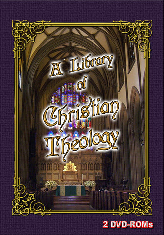 Christian Theology 2 DVD-ROMs -  boxed