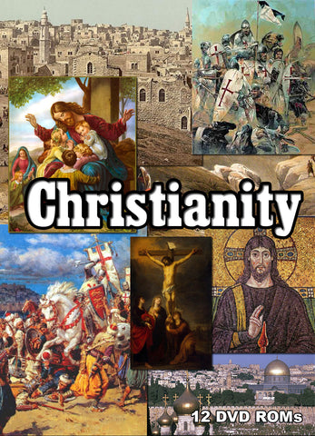 Christianity - comprehensive 12 DVD-ROM library boxed