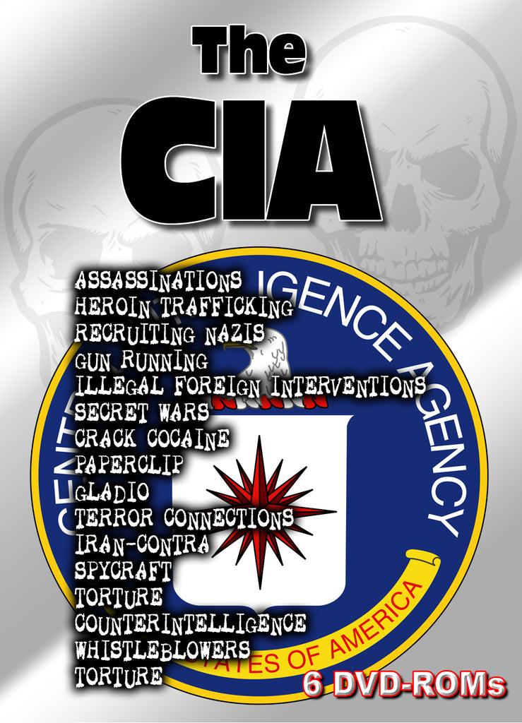 The CIA - a comprehensive document and multimedia library 8 DVD-ROM boxed