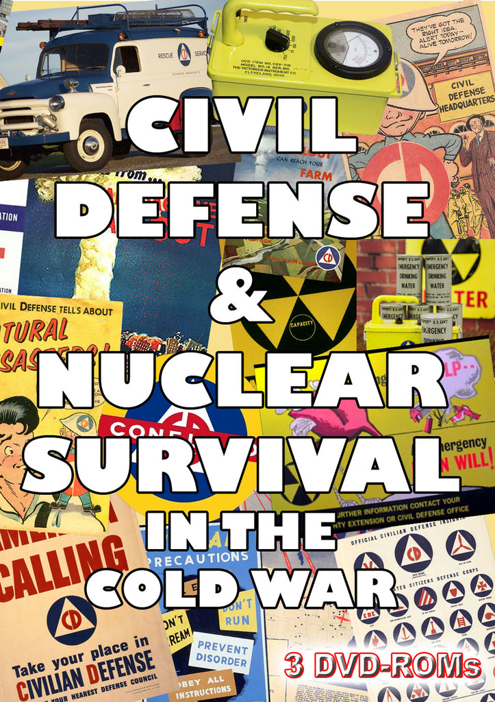 Civil Defense and Nuclear Survival in the Cold War - 3 disks boxed set