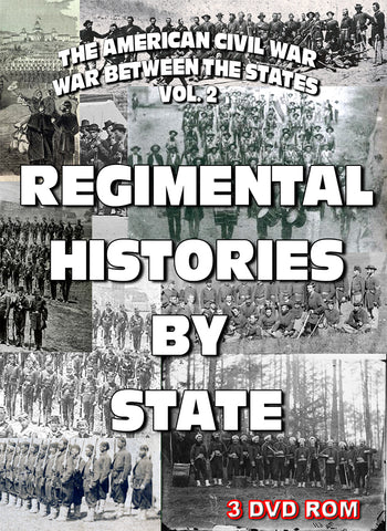 The American Civil War Vol 2: Regimental Histories By State - 3 DVD-ROM boxed