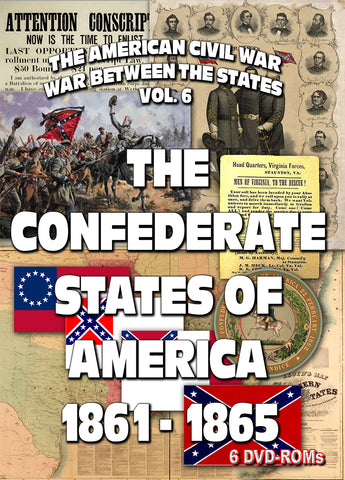 The American Civil War Vol 6: The American Confederacy 6 DVD-ROMs