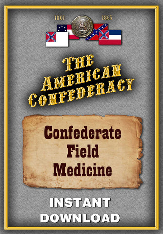 Confederate Field Medicine - Instant download - Gene's Weird Stuff  - 1