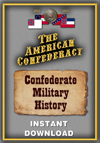 Confederate Military History, a Library of Confederate States History- 12 volumes complete - Instant Download - Gene's Weird Stuff  - 1