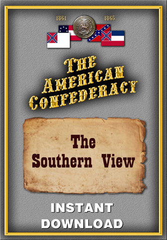 The American Confederacy - The Southern View of the War - Instant Download - Gene's Weird Stuff