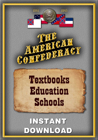 Confederate Textbooks, Education & Schools - Instant Download - Gene's Weird Stuff  - 1