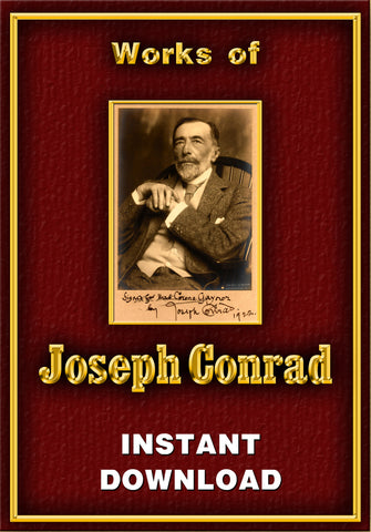 Joseph Conrad - Instant download - Gene's Weird Stuff