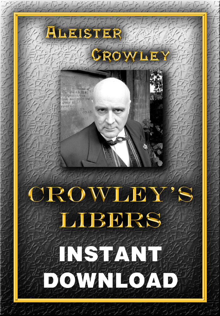 Aleister Crowley's Liber Series - Instant Download - Gene's Weird Stuff