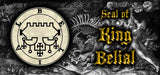 Seal of King Belial, 5 pgs parchment, 67 copies total, 5 sizes with Lamen