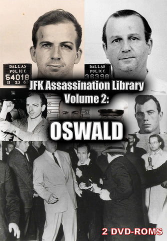 JFK Assassination Library Vol 2 of 5: Oswald -  2 DVD-ROM boxed - Gene's Weird Stuff