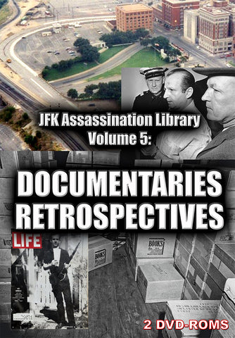 JFK Assassination Library Vol 5 of 5: Documentaries and Retrospectives - Gene's Weird Stuff