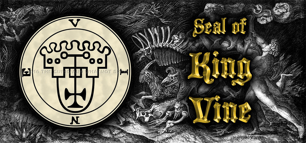 Seal of King Vine, 5 pgs parchment, 67 copies total, 5 pgs parchment, 67 copies total, 5 sizes with Lamen