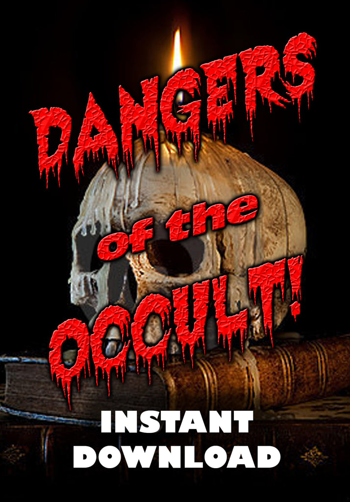 Dangers of the Occult - instant downlod - Gene's Weird Stuff