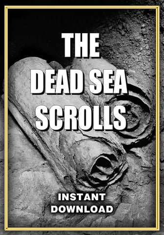 Dead Sea Scrolls - Instant Download